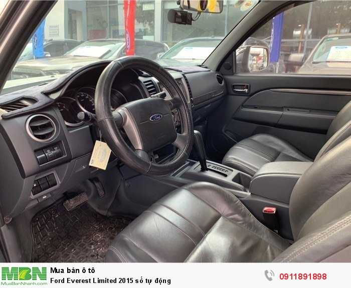Ford Everest Limited 2015 số tự động