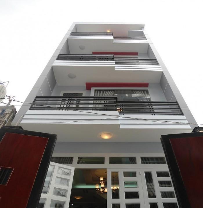 Bán nhà 162m2 mt Trường Sơn, Tân Bình 1 trệt 3 lầu