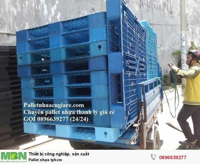 Pallet nhựa tphcm - Hotline: 0896639277 (24/24)