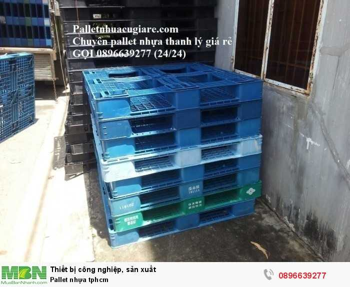 Giá pallet nhựa tphcm - Hotline: 0896639277 (24/24)1