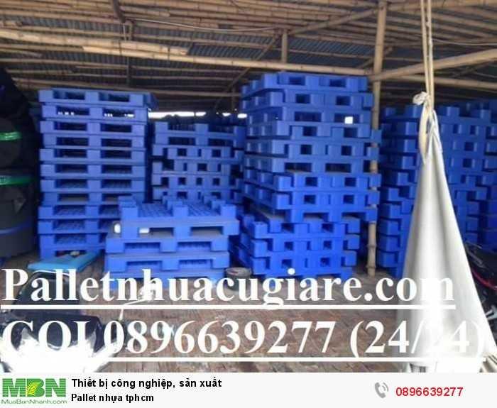 Bán pallet nhựa tphcm - Hotline: 0896639277 (24/24)