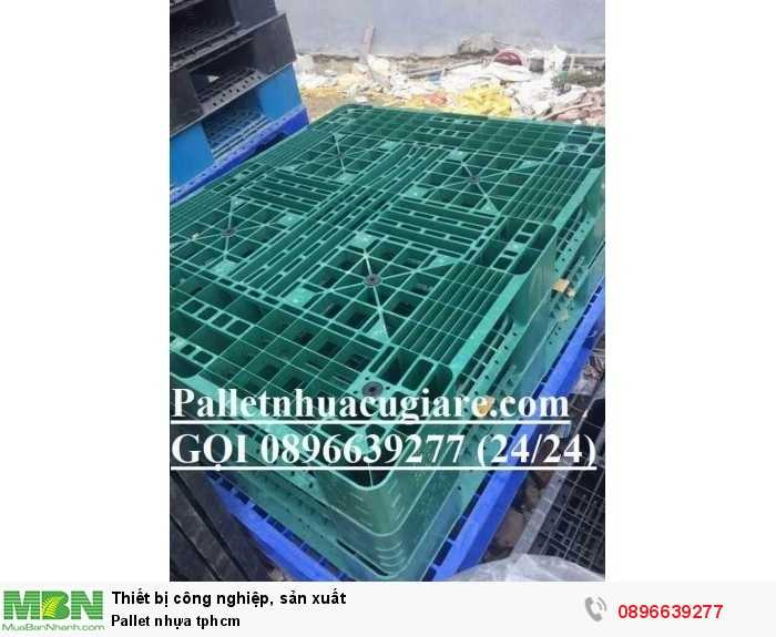 Pallet nhựa giá rẻ tphcm - Hotline: 0896639277 (24/24)4