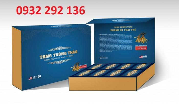 Tạng trùng thảo giúp tăng cường sinh lực và sinh lý nam, hộp nhỏ 2 viên giá 195.000đ/ hộp/ Liên hệ 0932 292 1360