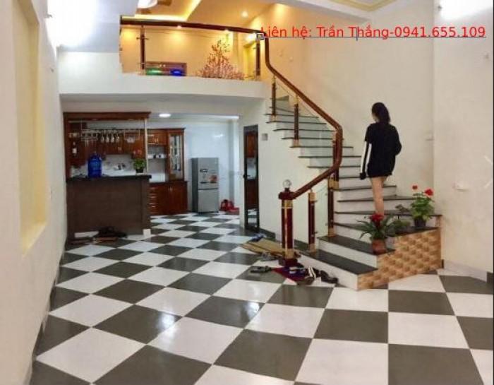 Bán đất tặng nhà 4 tầng, TT phố Trương Định, Hoàng Mai 38m2