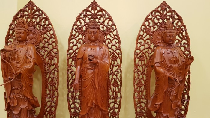 Tượng tam thế phật cao 1m, hàng đẹp tại Tiền Giang5