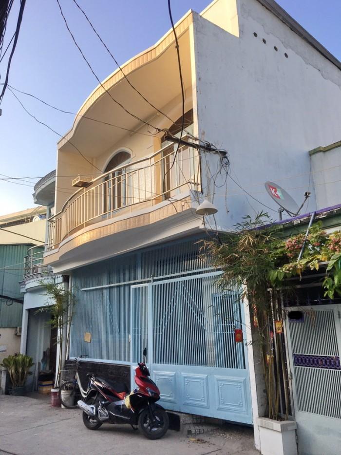 Cho thuê nhà nhỏ 1 lầu đường Phạm Hữu Lầu P. Phú Mỹ Quận 7.
