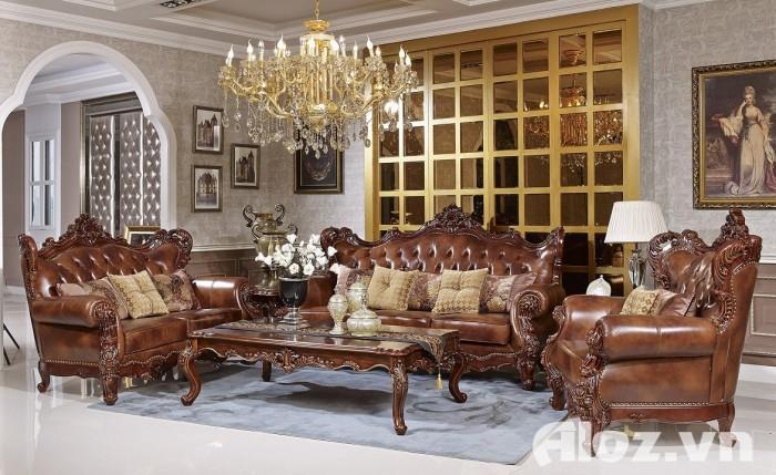 bộ bàn ghế gỗ tân cổ điển Tân Bình Bình Thạnh0