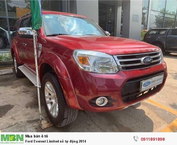 Ford Everest Limited số tự động 2014