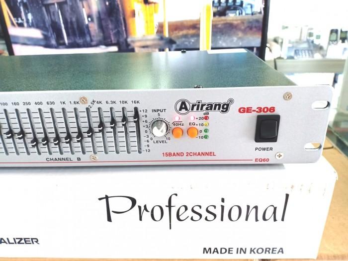 Lọc Equalizer Arirang GE-306 máy mới 100% bán thanh lý giảm giá đến 45%0