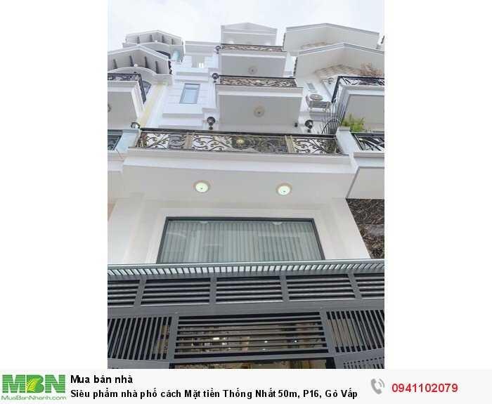 Siêu phẩm nhà phố cách Mặt tiền Thống Nhất 50m, P16, Gò Vấp