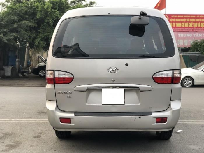 Hyundai Grand Starex 2.5MT sản xuất 2007 bản 12 chỗ màu Bạc