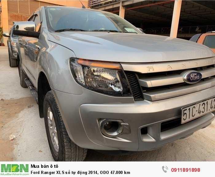 Ford Ranger XLS số tự động 2014, ODO 47.000 km