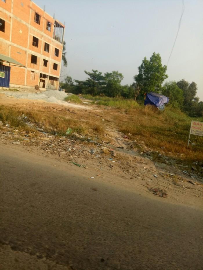 Bán đất vị trí đẹp đường Bùi Thanh khiết , Bình Chánh TPHCM