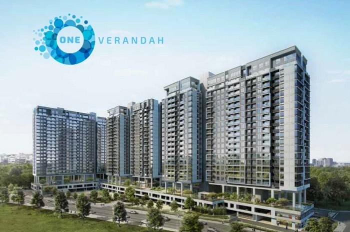 Căn hộ One Verandah – TT 20% nhận nhà