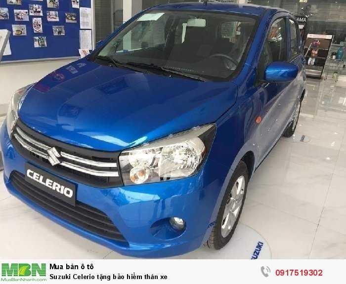 Suzuki Celerio tặng bảo hiểm thân xe
