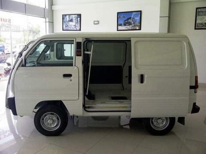 Xe tải Van - Suzuki Blind Van 490kg - Chạy giờ cấm