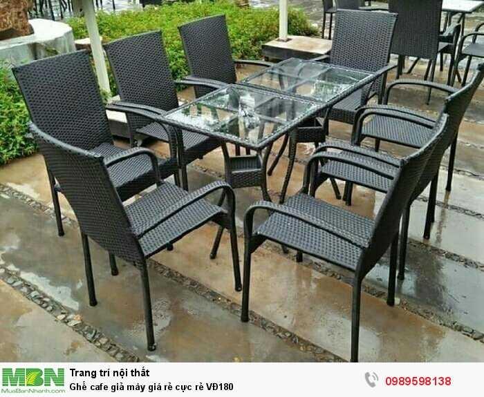 Ghế cafe giả mây giá rẻ cực rẻ VĐ1802
