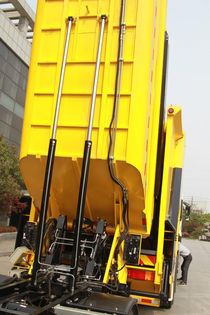 Thiết bị thu gom rác thải HYVA COMPACTORS