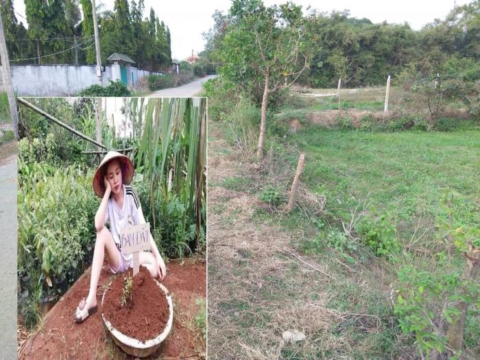 Nợ tiền mua nhà cần sang lại 500m đất vườn MT Cây Trôm, Thái Mỹ