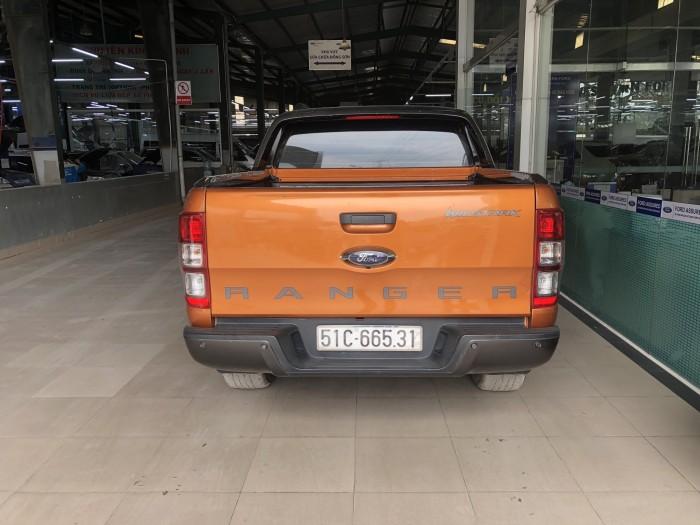 Bán Ford Ranger Wiltrack 3.2L màu cam sx 2015 form mới