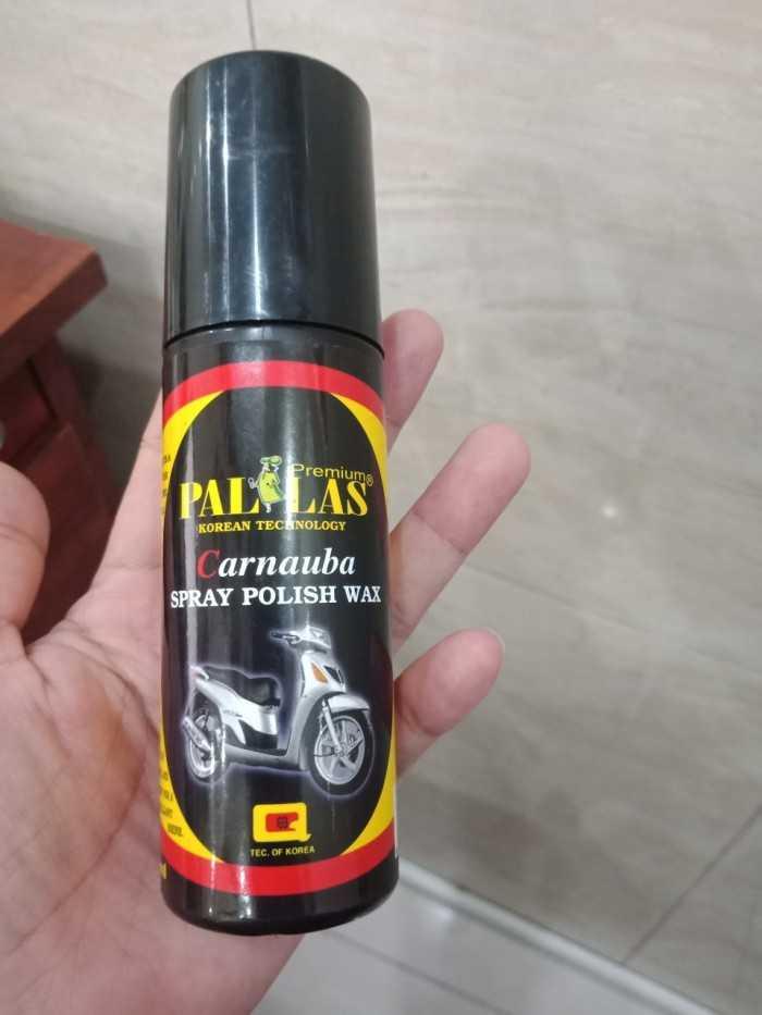 Dung Dịch Dưỡng Bóng Sơn Xe Pallas Polish Wax 120ml-PLP120 2