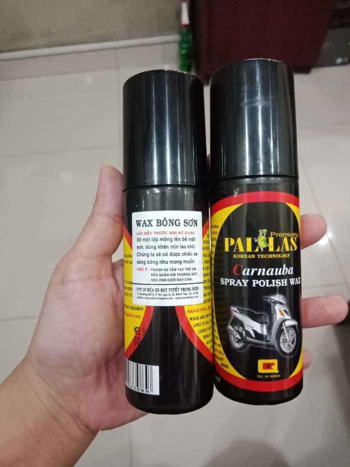 Dung Dịch Dưỡng Bóng Sơn Xe Pallas Polish Wax 120ml-PLP120 4