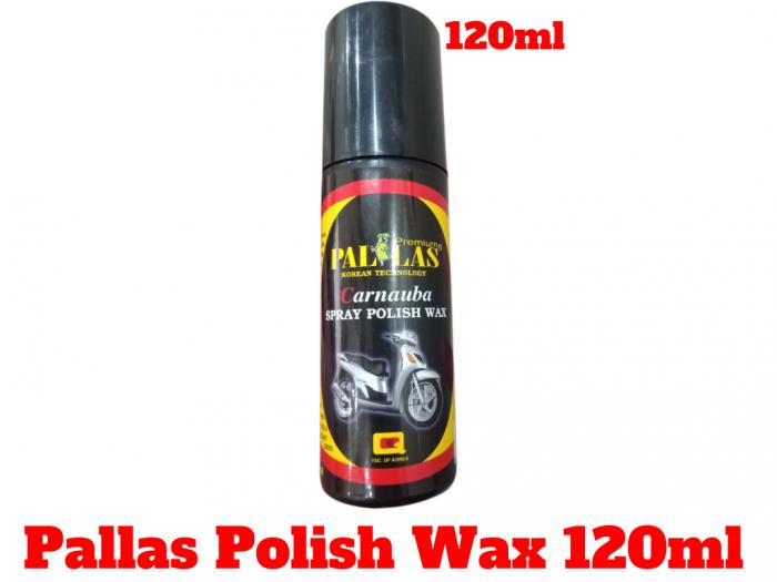 Dung Dịch Dưỡng Bóng Sơn Xe Pallas Polish Wax 120ml-PLP120 0