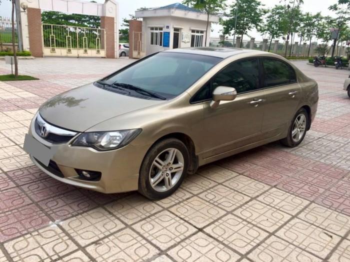 Cần bán xe Honda Civic 2009 số tự động, 1.8 full option