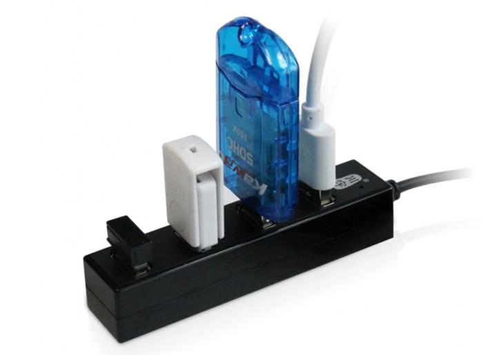 Hub USB 4 Port Kawau USB H212 Hỗ Trợ Tốc Độ Đến 480Mbps (Siêu Hot)3