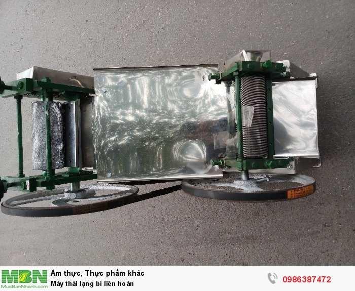 Máy thái lạng bì liên hoàn