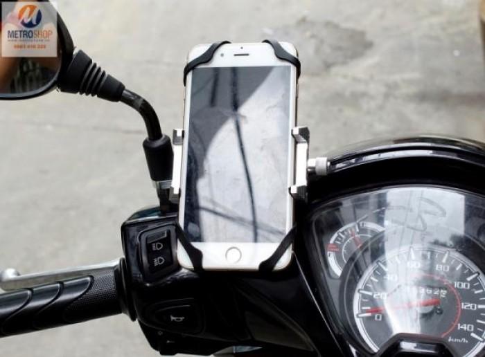 Kẹp điện thoại cho xe máy S400
