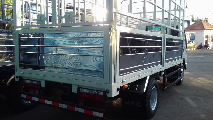 Xe tải động cơ ISUZU 2t4 thùng 4.380m turbo, trợ lực, phun dầu điện tử 5
