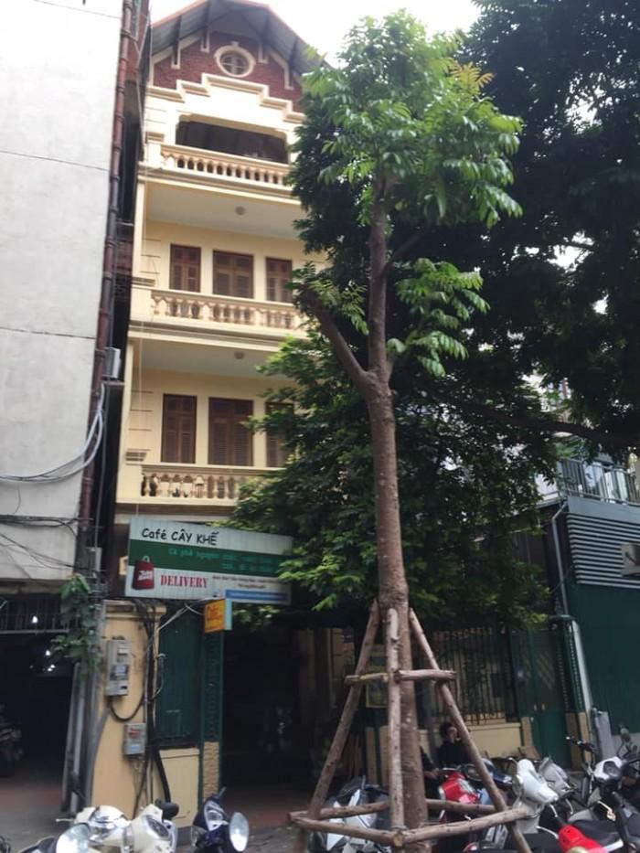 Cho thuê mặt phố Ô Chợ Dừa, Đống Đa 120 tr/th,  140m2, mt 5.5 m, 4 tầng thời trang , showroom mỹ phẩm,