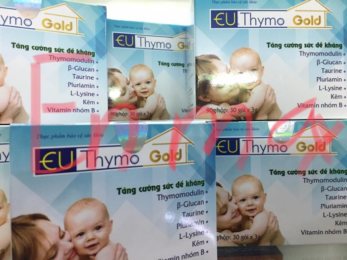 EU Thymo Gold - men tiêu hóa giúp trẻ hết biếng ăn, giúp tăng hấp thu dưỡng chất ở trẻ