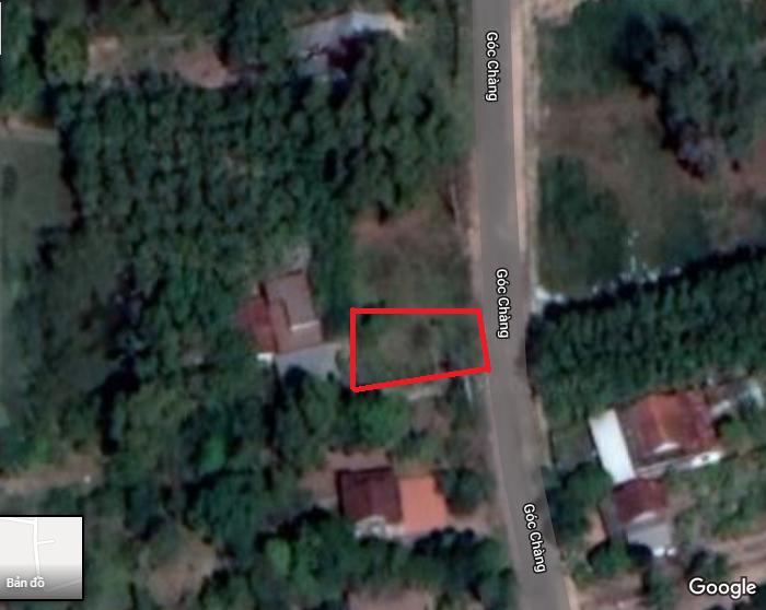 Đất thổ cư, mặt tiền đường Gót Chàng