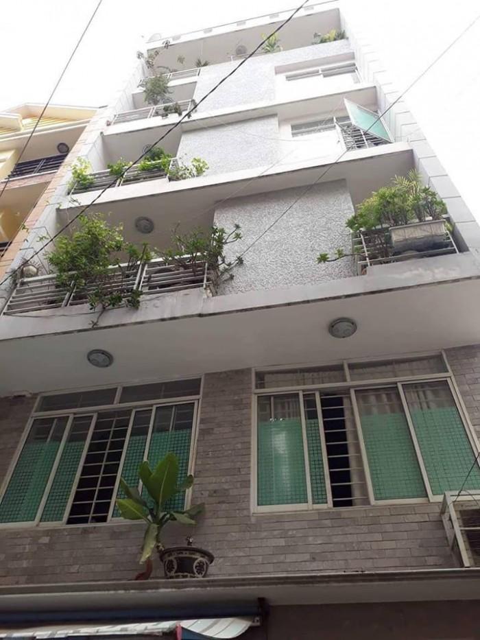 Bán Nhà HXH Quận Tân Bình Đường Thái Thị Nhạn 5 tầng.