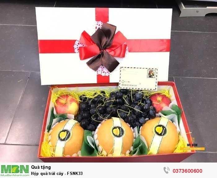 Quà tặng sinh nhật - Hộp quà trái cây - FSNK332