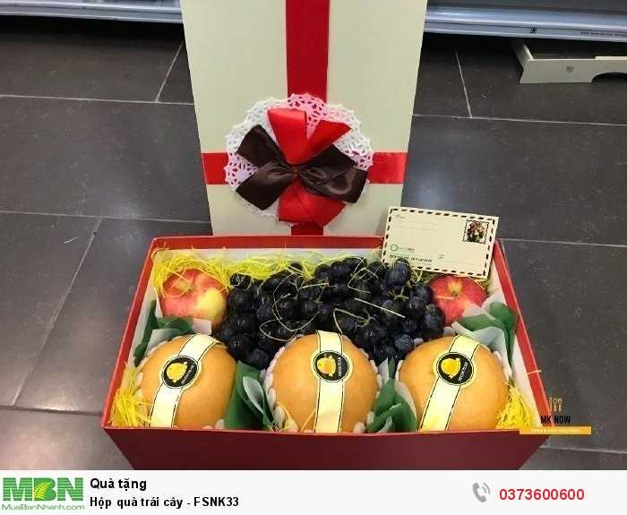 Quà tặng ý nghĩa - Hộp quà trái cây - FSNK333