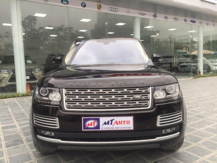 Cần bán xe LandRover Range Rover SV Autobiography Model 2016, màu đen xe cực chất ODO zin 10.000km. LH: 0982.842838