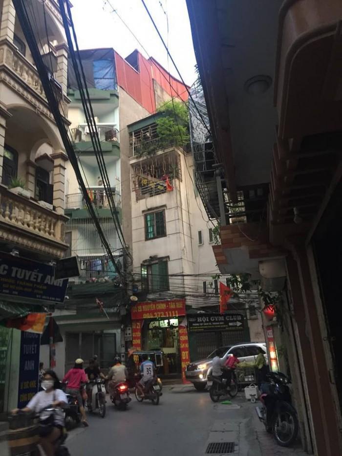 Bán nhà 2 tầng ngõ 99 Định Công Hạ, diện tích 28, sổ đỏ chính chủ