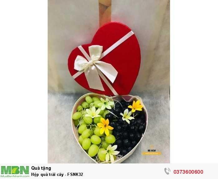 Mua hộp quà trái cây đẹp HCM