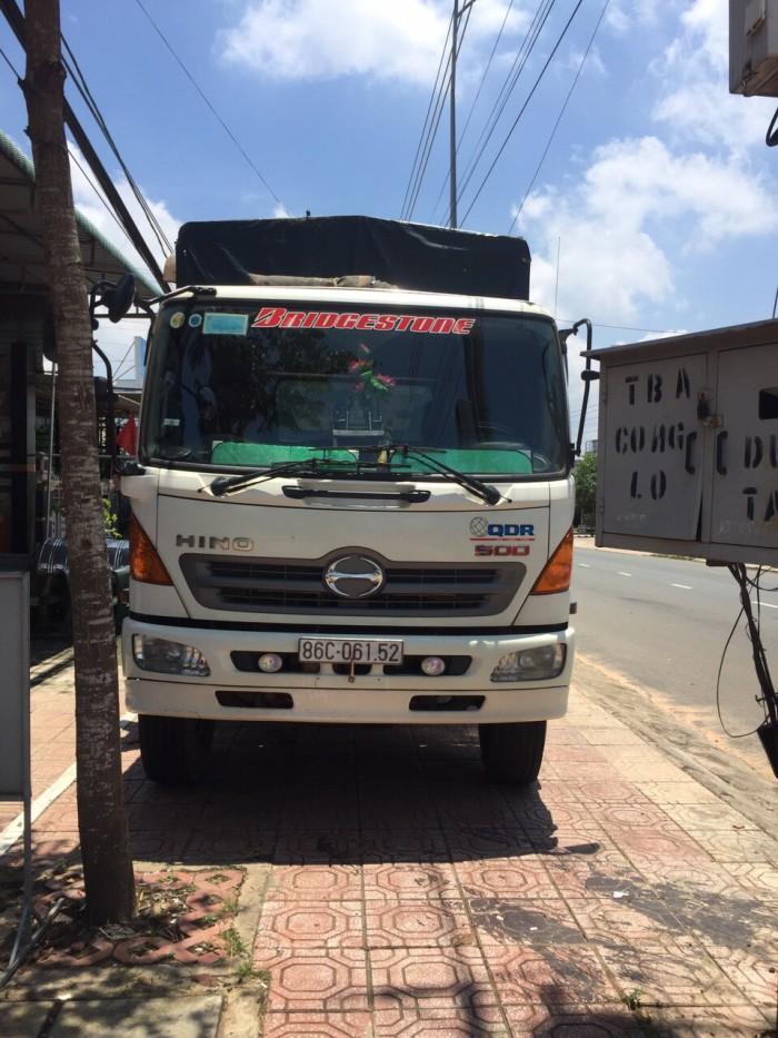 Bán xe tải Hino 3 gio let thùng dài 7.5m