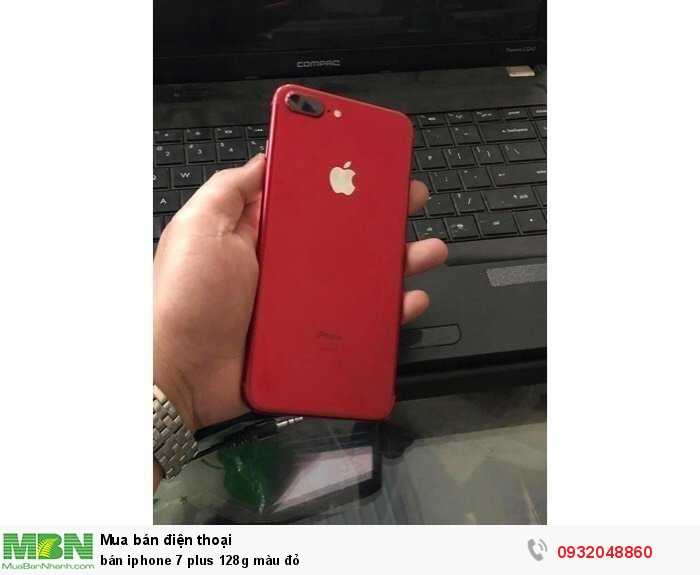 Bán iphone 7 plus 128g màu đỏ0
