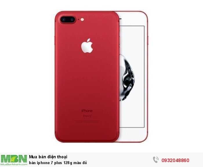 Bán iphone 7 plus 128g màu đỏ1