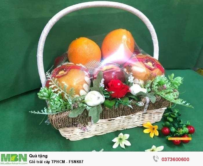Giỏ trái cây TPHCM - FSNK070