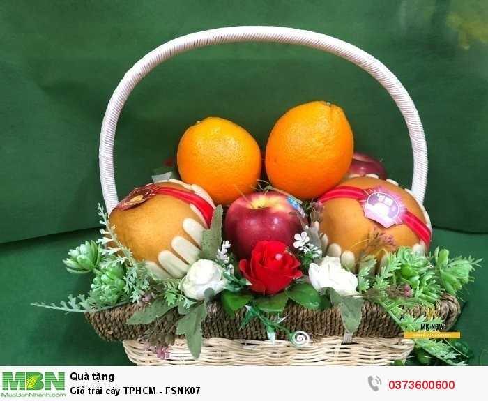 Giỏ trái cây tươi nhập khẩu theo mùa - FSNK072