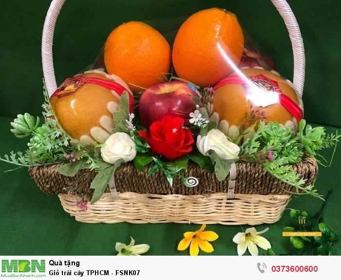 Đặt giỏ trái cây cao cấp - FSNK073