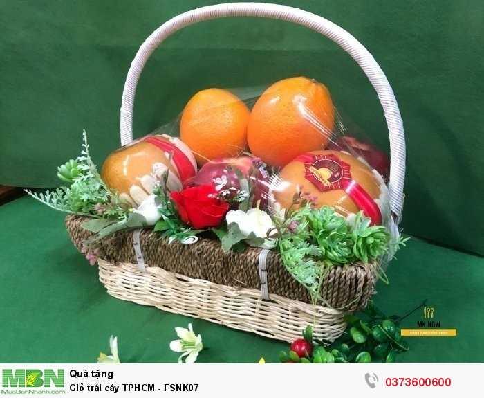 Giỏ hoa quả ngoại nhập - FSNK075