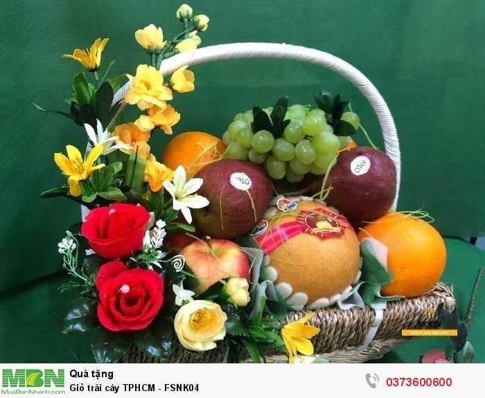 Đặt giỏ trái cây TPHCM - FSNK041