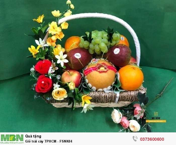 Mua giỏ trái cây TPHCM - FSNK042